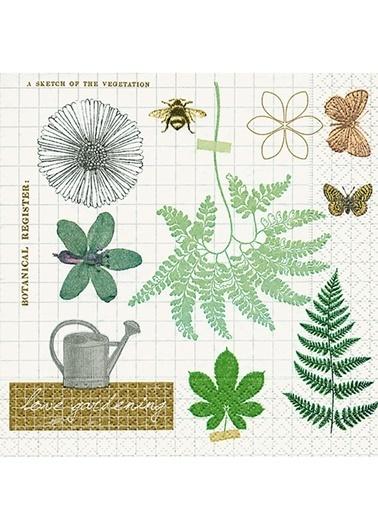 Love Gardening Peçete-Dünya Style